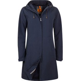 Elkline On Air Rain Coat Women blueshadow